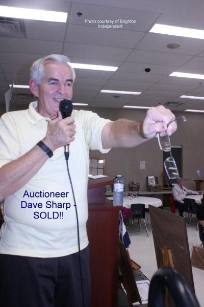 Auctioneer Dave Sharp